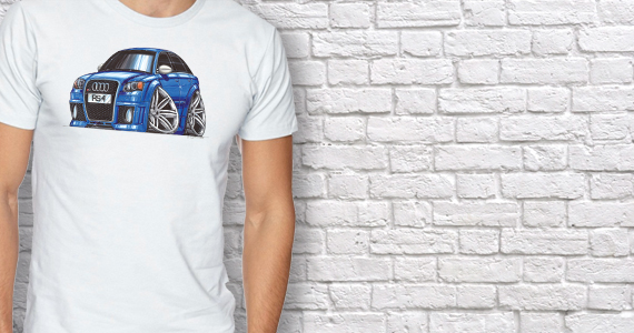 Custom Printed Car T-shirts